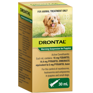 Drontal Puppy Wormer